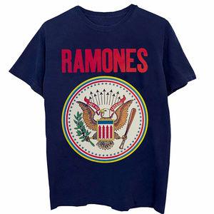 Ramones Colorful Seal punk rock T-Shirt L XL NWT